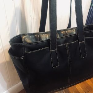 Coach large carry all tote